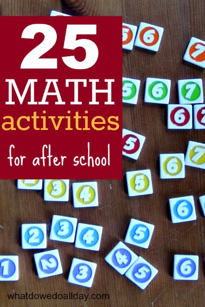 ways to make math fun for kids