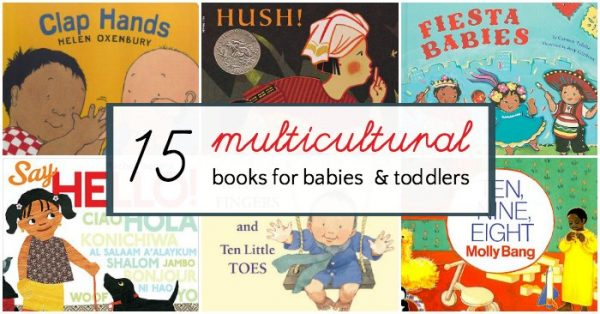 Mu/ticultural books for babies and toddlers featuring diverse characters