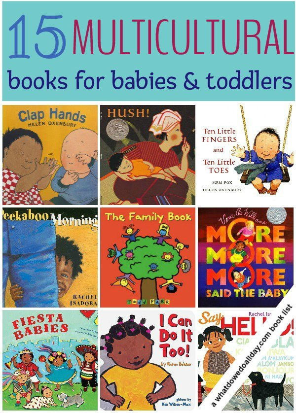 15 multicultural books for babies and toddlers