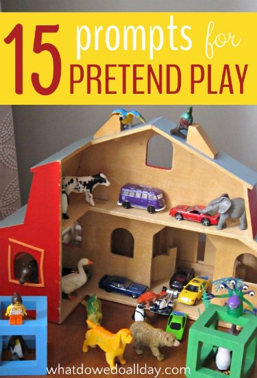 Indoor fun for kids with pretend play ideas.