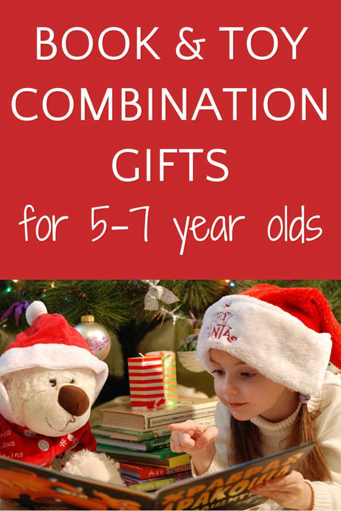 Book and toy gifts for 5-7 year olds