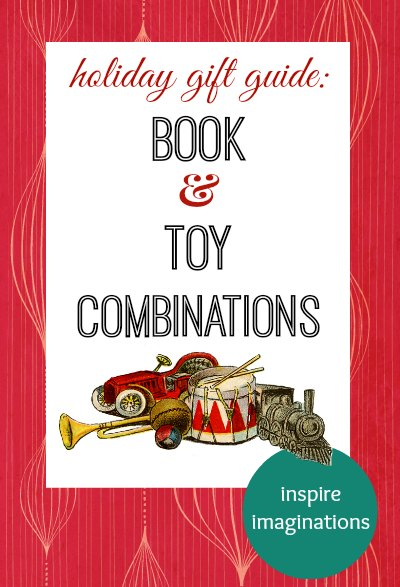 Book and toy sets - gift guide for kids