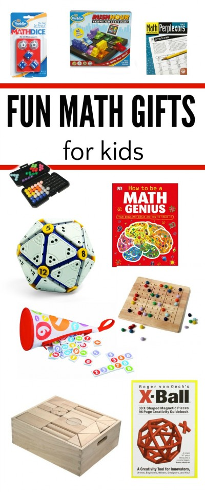 Math gifts for kids that they will actually love!
