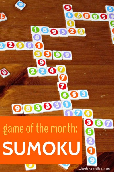 Sumoku is a fun game that teaches addition and multiple skills