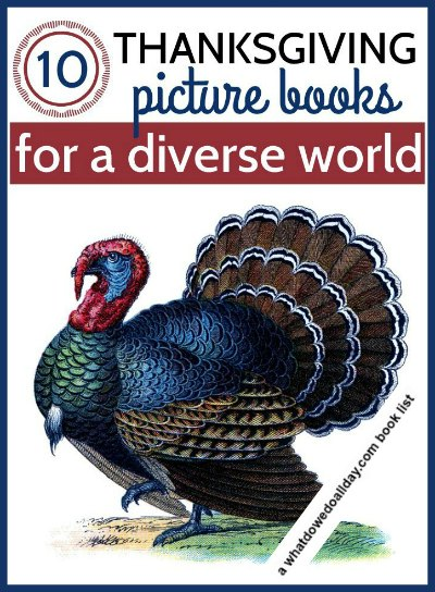 Multicultural Thanksgiving books for kids celebrating diversity