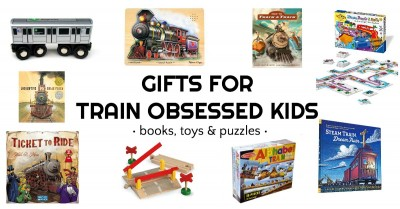 Gifts for kids who love trains