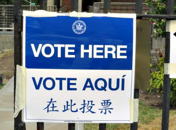Take your kids to the polls - election day activity