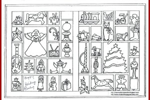 christmas boxes melanie hope greenberg coloring page
