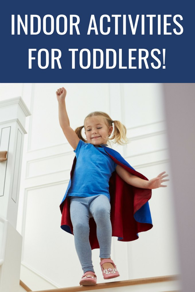 What a great list of indoor activities for toddlers. These actually look easy, too!