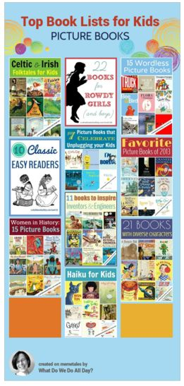 Best picture book lists 2013 for kids.
