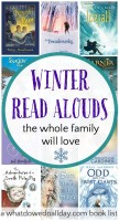 Winter chapter books to read aloud. Kids and parents will love these books.