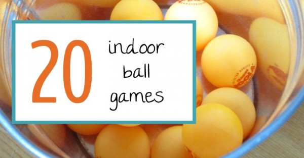 indoor ball games for kids