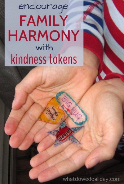 Encourage Family Harmony with DIY Kindness Tokens