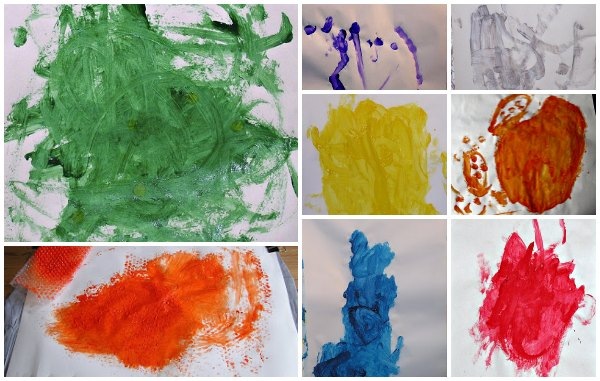 Exploring painting using only one color