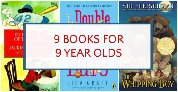 Kid chosen, parent approved books for 9 year olds.