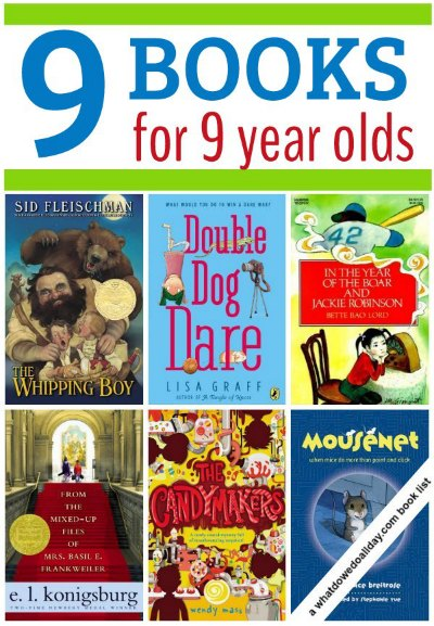 Chapter books for 9 year old boys and girls (3rd graders)
