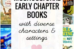 Diverse beginning chapter books for kids ages 6-10