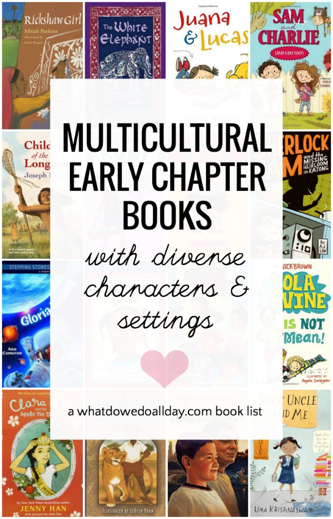 Diverse books for kids ages 6-10. Beginning chapter books are great for kids learning to read past the easy reader levels. These books have non-western settings, and diverse characters.