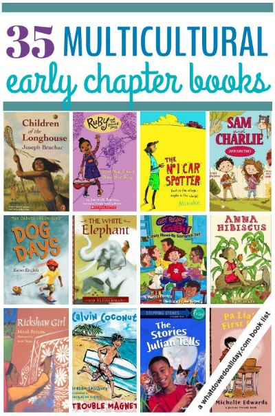 List of multicultural early chapter books for kids
