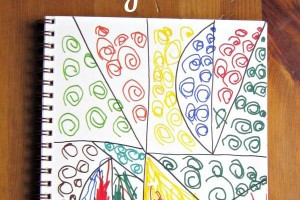 Zentangles with a 5 Year Old