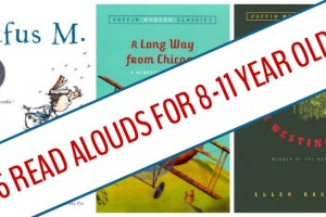 Read aloud books for older kids