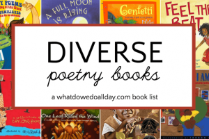 Wonderfully Diverse Poetry Books for Kids