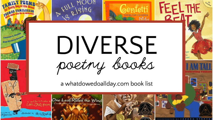 diverse poetry books for children