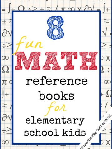 Fun math books for kids ages 7 and up.