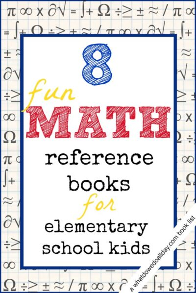 8 Math Reference Books for Kids