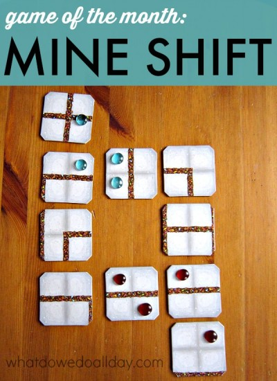 Mine Shift from Mindware is a strategy game for kids.