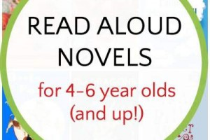 Read aloud chapter books for 4 to 6 year olds, and older kids, too.