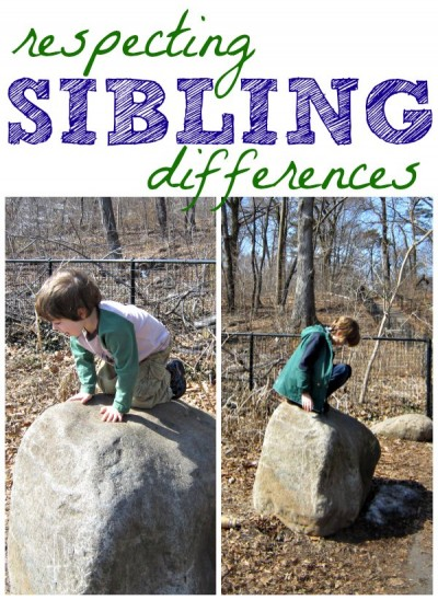 How to respect sibling differences
