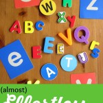12 (Almost) Effortless Preschool Literacy Activities