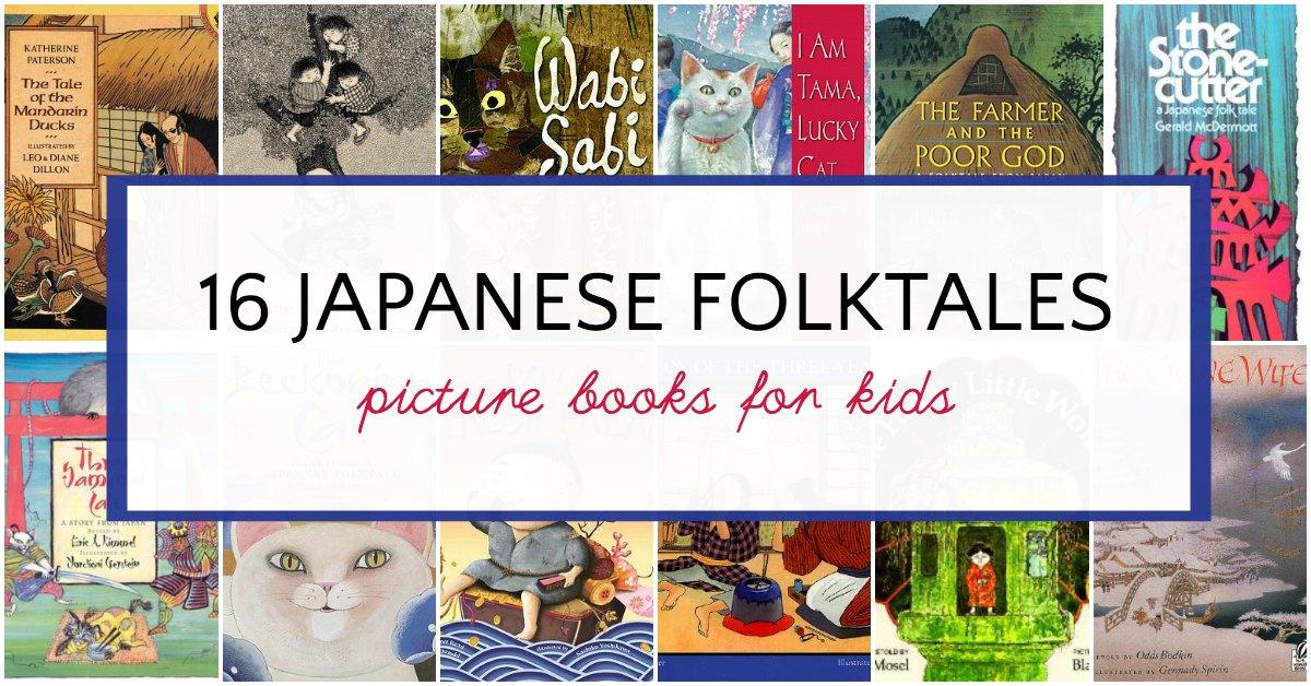 16 Japanese Folktales for Kids