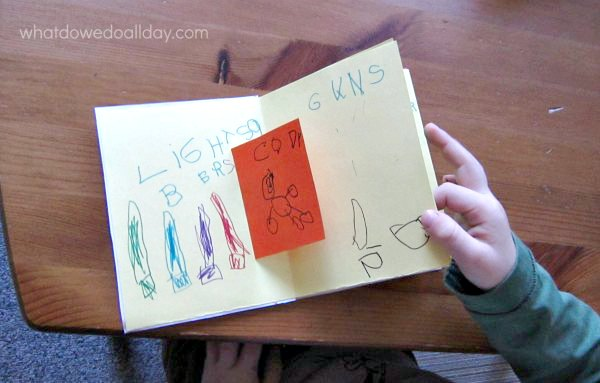 How to make a pop up book with your 5 year old for How to make an old book