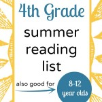 4th Grade Summer Reading List
