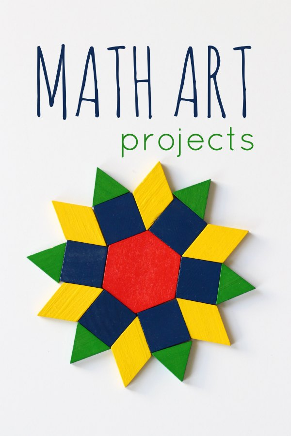 12 Math Art Projects for Kids to Try