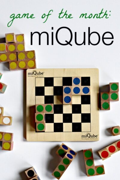miQube from Mindware is a challenging strategy game and puzzle.