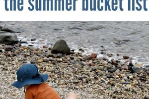 The REAL Summer Bucket List