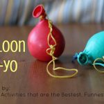 Balloon Yo-Yo (Inspired by 101 Kids Activities)