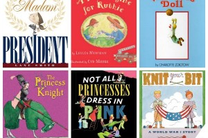 Children's books that break gender stereotypes. Click through for entire book list.