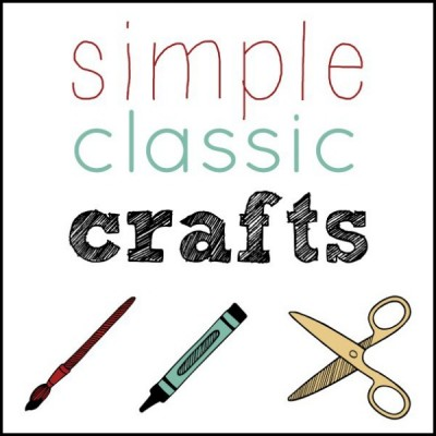 Simple classic crafts to make with kids.