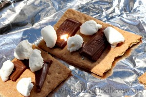 How to make solar s'mores. Two ways.