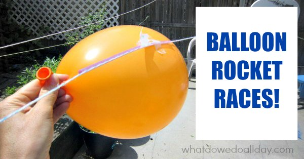how to make balloon rockets