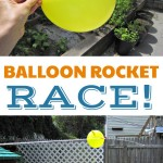 Blast Off with An Amazing Balloon Rocket Experiment