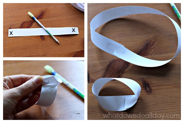 How to make a Mobius strip