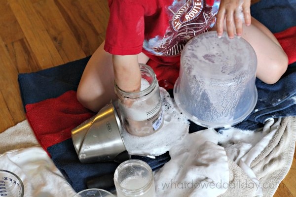 Science lab free play for kids