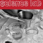DIY Simple Kids' Science Lab