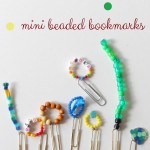 Handmade Mini Bookmarks (and Books About Reading)