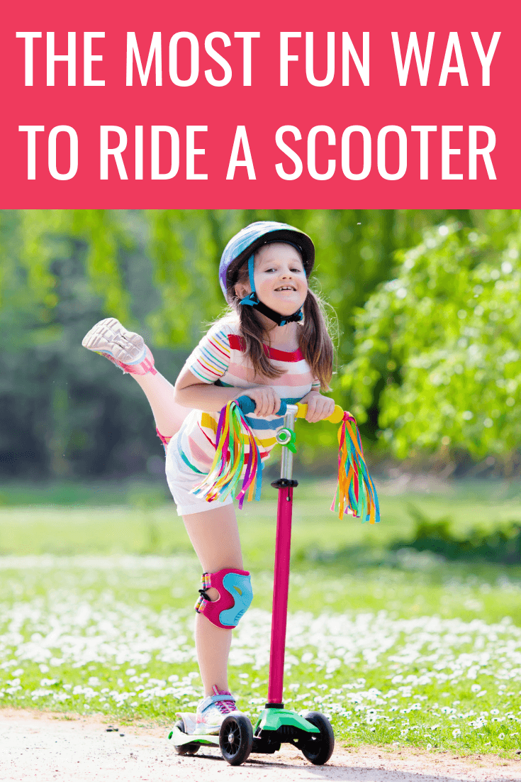 How to create a scooter slalom course